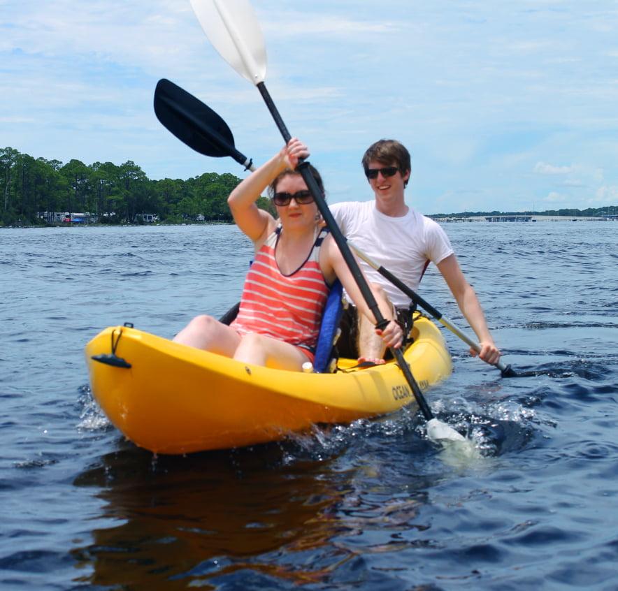 Kayak Rentals Shell Island Shuttle