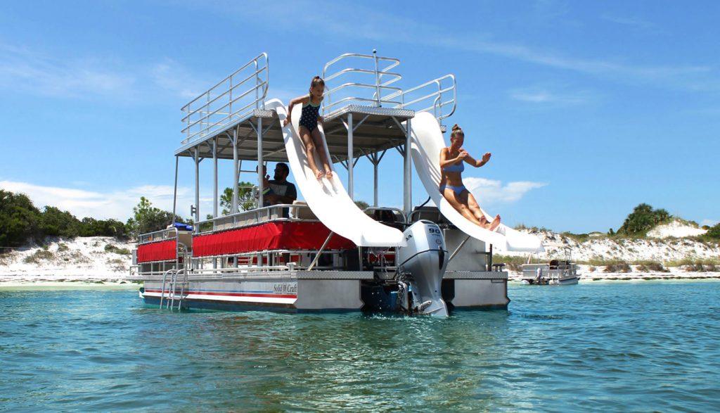 Panama City Beach Pontoon Rentals Boat Rentals Shell